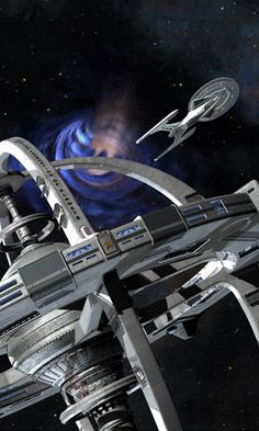 Star Trek The Fall / star base / space station