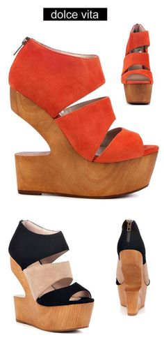 Dolce Vita Julia - get the conversation started wearing this cut out wedge heel