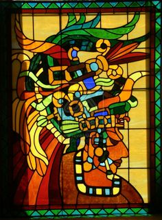 Mayan Stained glass by HouseofChabrier on deviantART