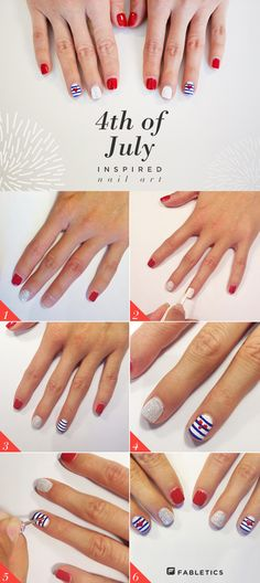 DIY: 4th of July Manicure
