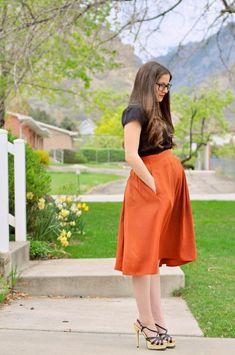 Kleider für Schwangere im Jahr 2017 | Mode