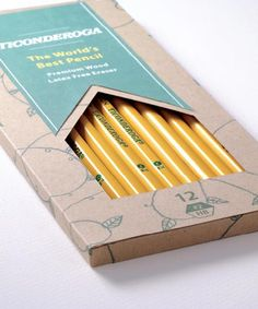 35 Creative Pencil Packaging Designs for Inspiration