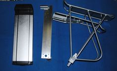 kit porta batterie per batterie al litio per biciclette o scooter