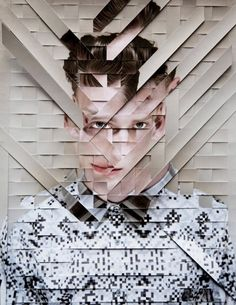 Damien Blottiere Collage, Suitable for a project called Fragments for GCSE Graphic Design Illustration, Graphic Art, Illustration Art, Photomontage, Frida Art, Fashion Collage, Foto Art, Art Graphique, Photo Manipulation
