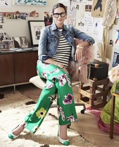 Conversation: Jenna Lyons - Style Muse In her office at J.Crew
