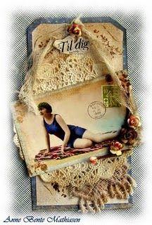 Tags - crochet lace