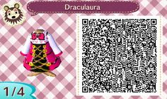 Draculaura – School's Out | QRCrossing.com