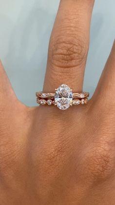 Vintage Inspired Engagement Rings, Dream Engagement Rings, Classic Engagement Rings, Rose Gold Engagement, Oval Diamond, Diamond Rings, Bridal Rings, Wedding Rings, Ring Verlobung