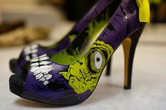 zombie heels for a #halloween #wedding