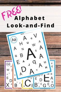 Download this complete set of FREE alphabet sheets from Teachers Pay Teachers. Plus more free resources!