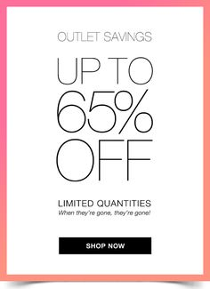 Wow!! 65% off saving .  Shop now click on the link bellow.  What a Great Deal, you don't want to miss this. AvonRep shirlean walker