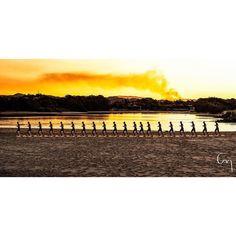 Evening jog #currumbin #currumbinbeach #jogging #running #dusk #evening #seaside #goldcoast by chillmimi http://ift.tt/1X9mXhV