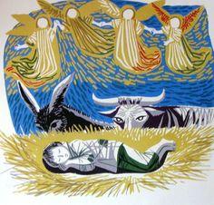 Maria Keil - Noite de Natal - Presépio Portugal, Sculpture, Disney Characters, Drawings, Illustration, Artwork, Photography, Painting, Nativity Scenes
