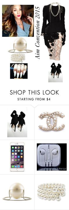 """""""Aim Convention Friday Night!!!"""" by cogic-fashion ❤ liked on Polyvore featuring Aminah Abdul Jillil, Chanel and Nordstrom"""