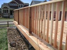 Deck Railing-these ballasters and post trim?