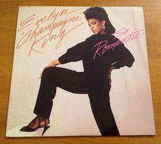Evelyn Champagne King So Romantic LP 1984 RCA Victor Vinyl Record Funk Soul #ClassicRBContemporaryRBDiscoFunkNeoSoulPostDiscoSoul