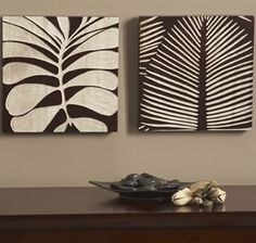 Tropical Leaf III Wall Panels