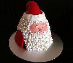 Santa Clause for Christmas cake