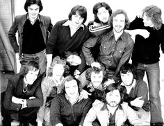Aston University Welsh Society taken at the Student Union Building in January of 1976. Pictured: Neil Clark, Chris Andrews, Gareth Thomas, John Williams, Matt Kavanagh, Dave Dix, Phil Jones, John Lord, Dr. Tim Sharp , (?) Parry and Keith Coulson (pic courtesy of  Keith Coulson). Aston University, Phil Jones, 50th Anniversary, Welsh, January, Lord, Student, History, Celebrities