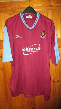 I m selling Reebok West Ham Utd Home Shirt - c082a5201
