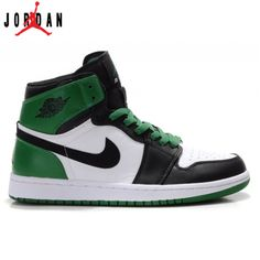reputable site da7bf 03f7f 332550-101 Air Jordan 1 Retro High Boston Celtics White Black Green,Jordan-