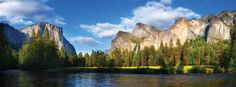 Yosemite National Park - some of Ansel Adams' photos of Yosemite sparked my fascination with this park, and I can't wait to someday see it in person and take my OWN pics of it!