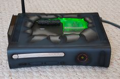 Airbrushed XBOX