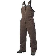 Tough Duck Mens Tough Duck Lined Bib Overall Double Oversize