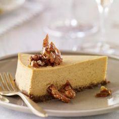 Pumpkin Cheesecake and 11 Healthy Cheesecake Recipes