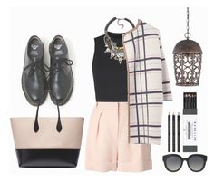 """""""#168"""" by vilte-m ❤ liked on Polyvore featuring Dr. Martens, Lala Berlin, Wood Wood, Nocturne, Rochas, Designers Fountain, Dolce&Gabbana and Mark's Tokyo Edge"""