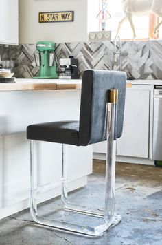 COUNTER HEIGHT   18u201dX22u201dX40u201dX26u201dSHX19u201dSD OUR TOP SELLING CHAPIN CHAIR, NOW  AVAILABLE IN A BARSTOOL. BEAUTIFUL LUCITE FRAME WITH BRASS CAPS. UPHOLSTERED  IN ...