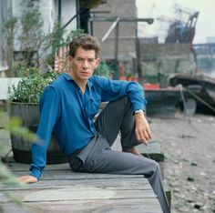 <b>Ian McKellen</b><br>Photographed for TV Times in 1982, at his London riverside home.