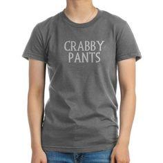 -Crabby Pants- T-Shirt
