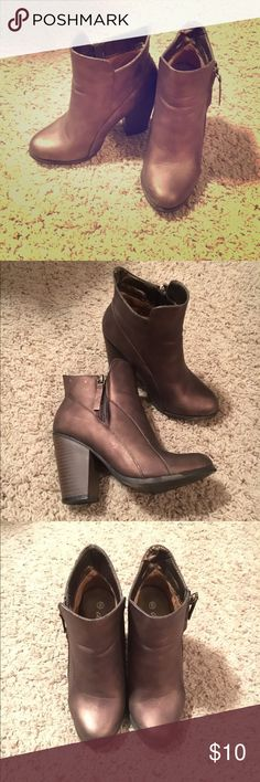 Heeled booties Gently worn Daytrip booties Daytrip Shoes Ankle Boots & Booties
