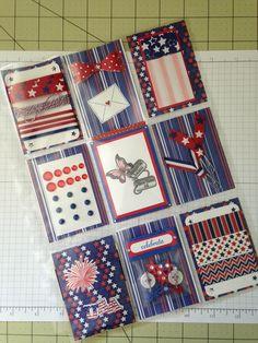 4th of July Pocket Pal, Pocket Cards, Book Crafts, Paper Crafts, Scrapbook Paper Flowers, Shadow Box Memory, Summer Journal, Pocket Page Scrapbooking, Pocket Envelopes