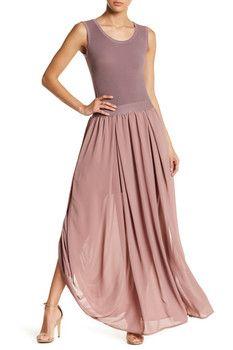 Gracia Sleeveless Chiffon Maxi Dress