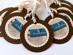 air mail tags!