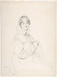 Comtesse Turpin de Crissé Jean Auguste Dominique Ingres (French, Montauban 1780–1867 Paris) Date: n.d. Medium: Graphite