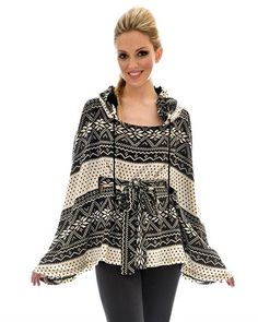 Vfish Hooded Poncho