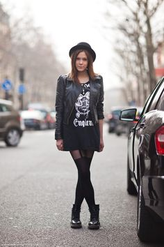 Moda de Rua: Preto
