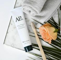 Removes tough stains from coffee, red wine, cigarettes and all your other sins. AP 24 restores teeth's natural whiteness, with visible results in days. Ap 24 Whitening Toothpaste, Whitening Fluoride Toothpaste, Nu Skin, Get Whiter Teeth, Clean Teeth, Cosmetics & Perfume, Summer Skin, Tips Belleza, Anti Aging Skin Care