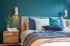 Group is a multi-disciplinary studio integrating residential & commercial architecture & strategic brand & digital design in Launceston, Hobart & Melbourne. Bedroom Wardrobe, Bedroom Inspo, Master Bedroom, Interior Stylist, Interior Design Studio, Colour Schemes, Colorful Interiors, Furniture Decor, Home Art