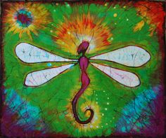 Batik dragonfly, by shadeofshadow
