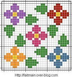 Resultado de imagem para jacquard crochet tutorial