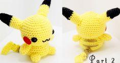 Pikachu Amigurumi Crochet Tutorial Part Written pattern . Basic stitches for amigurumi . Pokemon Crochet Pattern, Pikachu Crochet, Crochet Patterns Amigurumi, Crochet Dolls, Crochet Hats, Pikachu Pikachu, Pokemon Bulbasaur, Mini Amigurumi, Amigurumi Doll