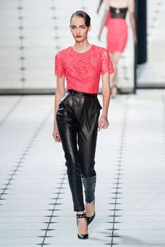 Spring 2013 Trend Report: Lace (Jason Wu)
