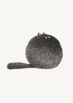 Image via We Heart It #art #cat #cute #fluffy #funny #illustration #kitty #lol #forgod'ssake #donotrepost