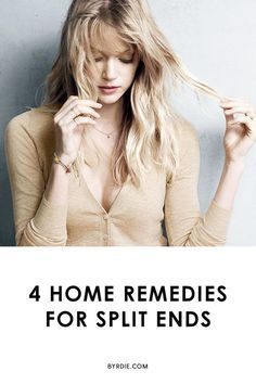 Not ready to make the chop? These DIY split-end remedies will revive your hair so you don't have to commit to a trim.