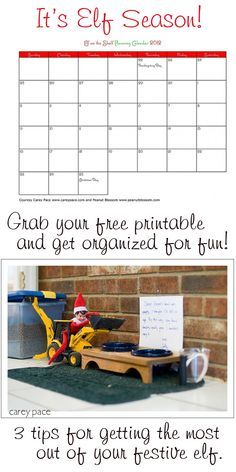 {Elf on the Shelf Ideas} It's that time of year again! Grab your free printable and get ready for some fun with your family elf.