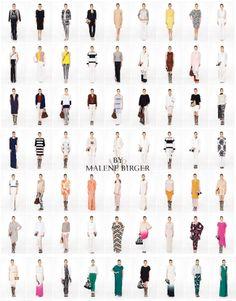 De By Malene Birger lente-zomer collectie 2014 zien we veel kleding in wit, zwart een mix hiervan en grijs in alle mogelijke tinten, wil je meer kleur voor zomerse dagen, MEER  http://www.pops-fashion.com/?p=9962